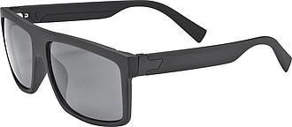 Sluneční brýle, černé, UV 400, pogumované obroučky i nožičky