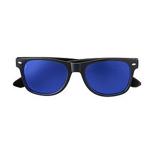 KRALO Plastové sluneční brýle s UV-400 ochranou, černá