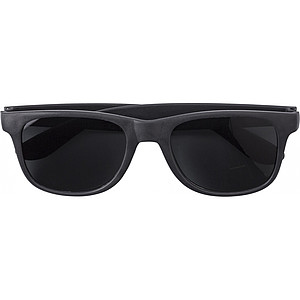 TANGERO Sluneční brýle, UV400, bambusové obroučky, černé