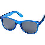 Sluneční brýle s transparentními obroučkami, světle královská modrá
