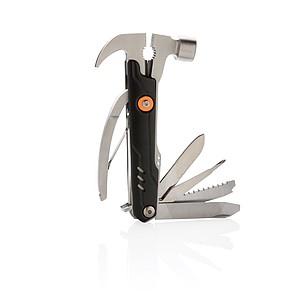 Multifunkční nůž Excalibur s kladívkem, černá