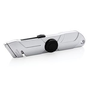 Vysouvací nůž ze slitiny zinku, stříbrná