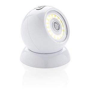 COB 360 světlo s pohybovým čidlem, bílá