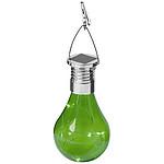 Solární LED svítilna Surya, středně zelená