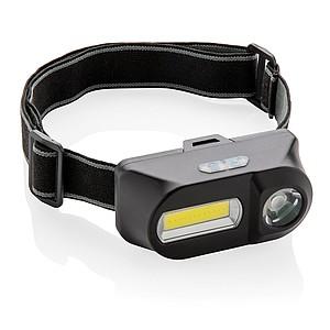 COB čelovka s LED světlem