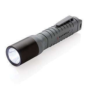 Lehká LED svítilna střední 3W, černá