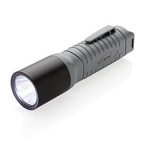 Lehká LED svítilna velká 3W, šedá
