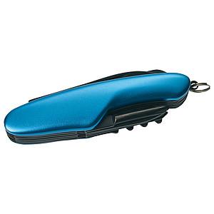 SCHWARZWOLF CAVALI multifunkční nářadí s 11ks, modré