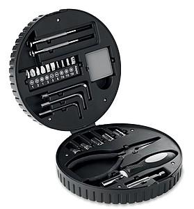Sada nářadí v kufříku, tvar pneumatiky