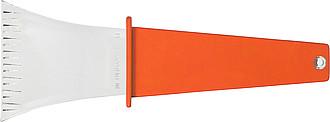 VARO Plastová autoškrabka srukojetí, oranžová