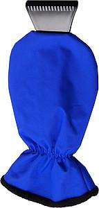 MANOPOLA Autoškrabka s modrou rukavicí