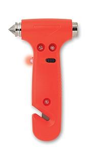 Nouzové kladivo 3 v 1, oranžová