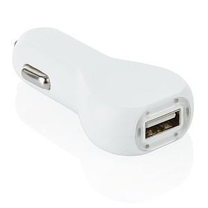 USB autonabíječka, bílá