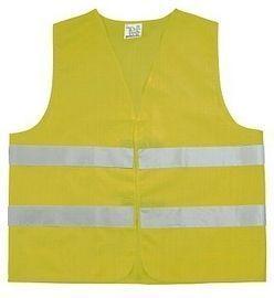 VESTA Bezpečnostní vesta, žlutá, vel. XL