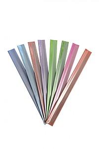 BELTINO Reflexní svinovací pásek na ruku, světle modrá