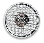 BLINKI Kulaté LED světlo s klipem, blikající, bílá