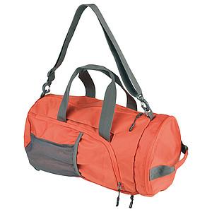 SCHWARZWOLF BRENTA skládací taška/batoh, oranžová