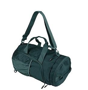 SCHWARZWOLF BRENTA skládací taška/batoh, černá