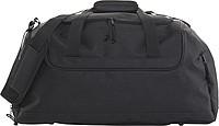 Cestovní taška s bočními kapsami, černá