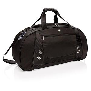 Cestovní sportovní taška, černá