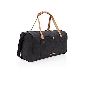 Canvas víkendová taška, černá