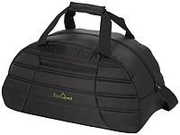 Zpevněná cestovní taška v módním designu, černá