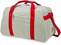 AUSTEN Sportovní taška z polyesteru Slazenger, šedá, červená