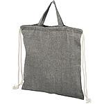Polyesterová sportovní taška s popruhem, černá