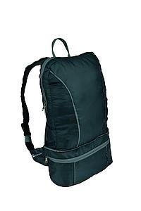 SCHWARZWOLF NUBE 2v1_skládací batoh/ledvinka, černý