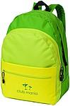 TRIAS Batoh s přední kapsou na zip, jasně zelená