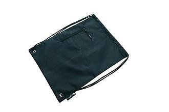 SCHWARZWOLF NUNAVUT stahovací batoh černý 420D polyester - reklamní bundy