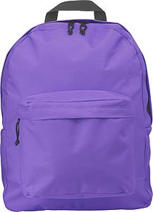 Batoh s nastavitelnými popruhy, fialový