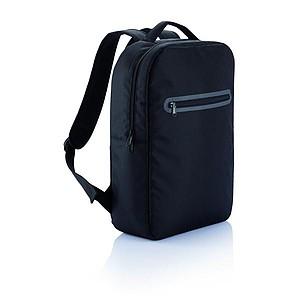Jednoduchý batoh s přihrádkou na tablet, černá