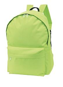 Batoh s přední kapsou, zelený