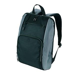 SCHWARZWOLF PIRIN batoh, černý se šedými detaily reklamní zapalovač