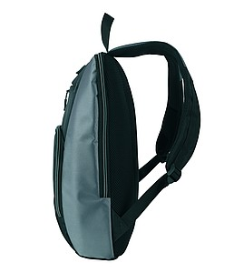 SCHWARZWOLF PIRIN batoh, černý se šedými detaily
