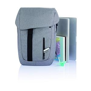 Batoh z recyklovaného materiálu, šedá