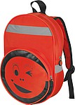 Dětský batoh s reflexními prvky, červený