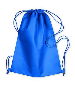 Klasický stahovací batůžek, barva královská modrá