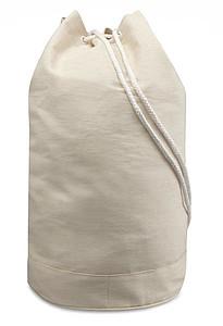 Stahovací batůžek z keprové bavlny, přírodní