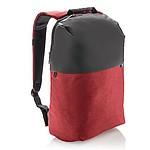 Oblíbený dvoubarevný batoh na notebook, červený