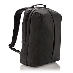 Praktický kancelářský a sportovní batoh, černý