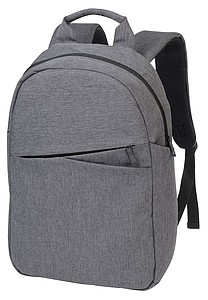 Batoh s místem na laptop a přední kapsou