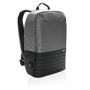 Swiss Peak nedobytný RFID batoh, šedá