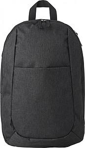 TRASELO Batoh s vnitřní kapsou, černý