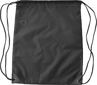 TIBRO Stahovací batoh z RPET, černý