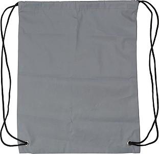 Stahovací batoh s reflexním povrchem