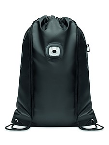 Stahovací batoh z RPET se světlem