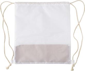 Stahovací batoh, kombinace korku a RPET