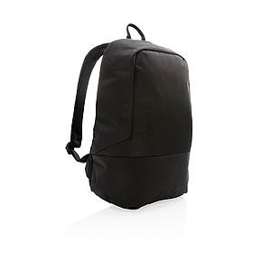 Standardní RFID nedobytný batoh, černá
